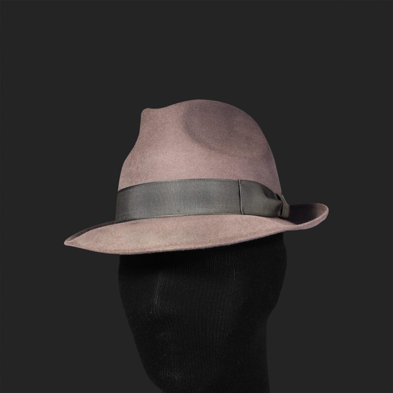 Cappello modello Trilby, in feltro di pelo, impermeabile ...